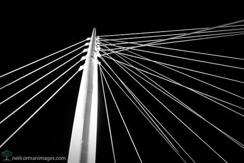 Lines in the Night - Millennium Bridge