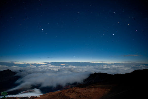 Start of a New Day at Haleakala