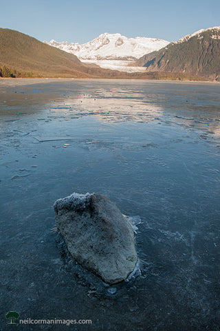 Afternoon at Mendenhall Lake