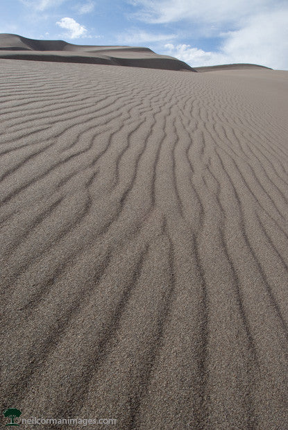 Patterns in the Sand at the Great Sand Dunes National Park and Preserve