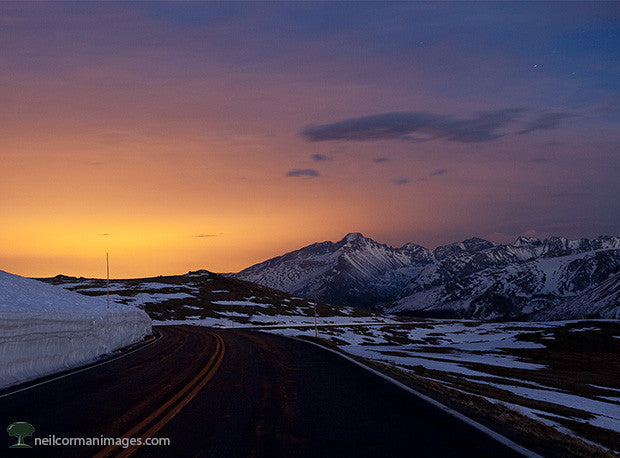 Evening on Trail Ridge Road