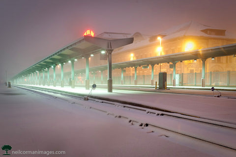 Union Station Snow - Denver