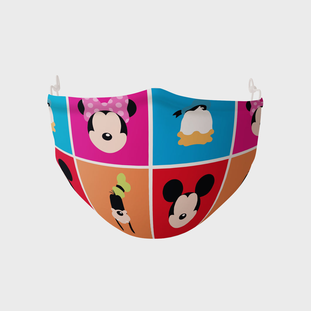 Mascarilla infantil Minnie