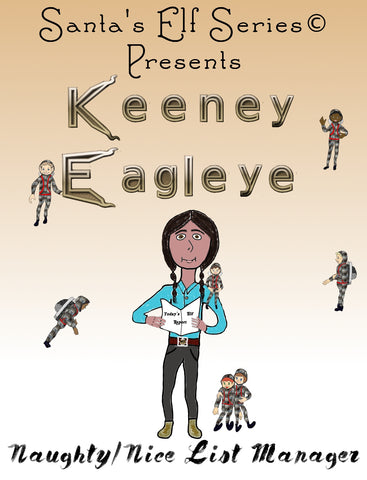 Keeney Eagleye, Naughty/Nice List Manager - Paperback