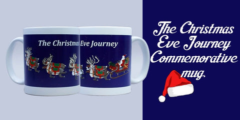 Christmas Eve Journey Commemorative Mug