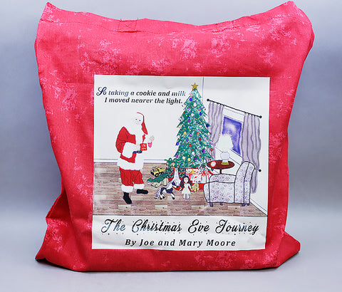 Christmas Eve Journey Tote Bag