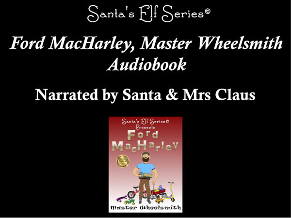 Ford MacHarley, Master Wheelsmith -  Audio Book