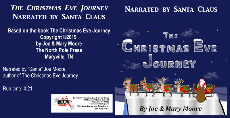 The Christmas Eve Journey - Audio Book