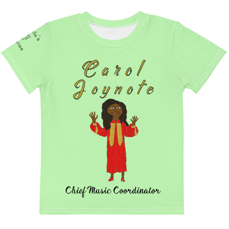 Carol Joynote Kids Crew Neck T-shirt