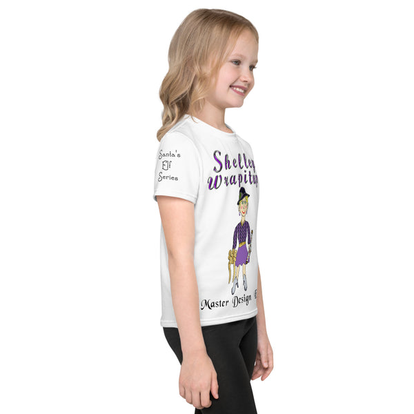 Shelley Wrapitup - Kids crew neck t-shirt