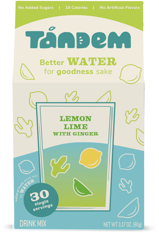 {PRE-ORDER} Lemon Lime with Ginger - Tandem - Delicious, Premium Flavor for Water