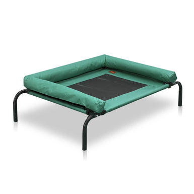 PaWz Extra Large Green Heavy Duty Pet Bed Bolster Trampoline