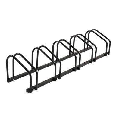 5-Bikes Stand Bicycle Bike Rack Floor Parking Instant Storage Cycling Portable