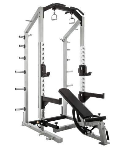 Everest HD Plus Half Rack with optional Platform and Bench
