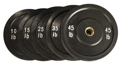 Solid Rubber Bumpers (Black)