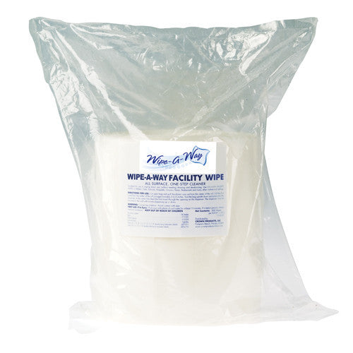 Replacement Cleaning Wipes (2 Rolls - 800 Wipes per Roll)