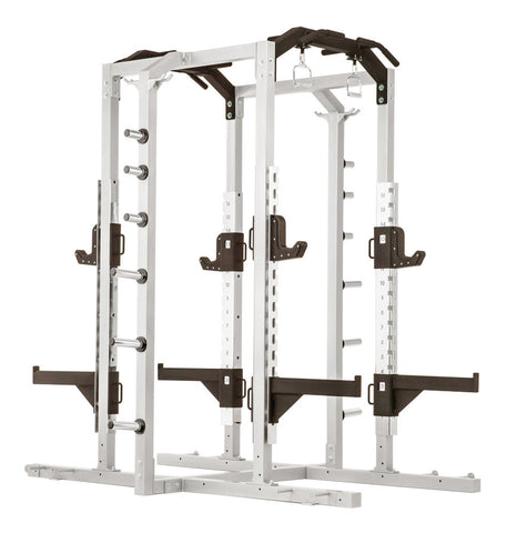 Everest HD Plus Double Sided Half Rack w/ optional Platforms and Benches