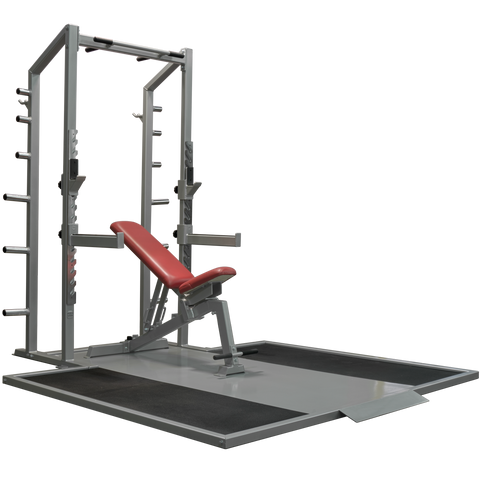 Denali Pro Half Rack with optional Platform and Bench