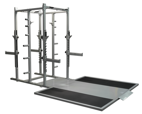 Denali Pro Double Sided Half Rack With optional Platforms and Benches
