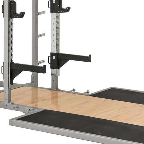 Everest HD Half Rack with optional Platform and Bench