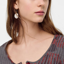 Load image into Gallery viewer, Azeztulite Crystal Gemstone Drop Earrings | Mossè London