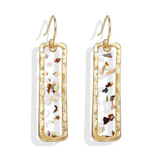 Load image into Gallery viewer, Retro Flake Earrings in Gold