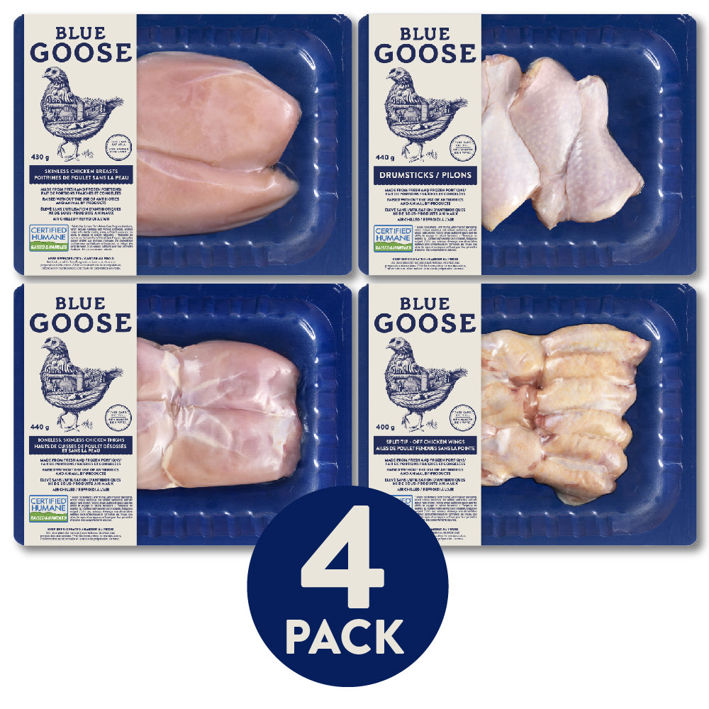 Chicken Variety Pack | 4 pack