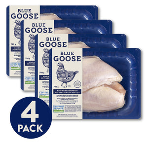 Bone-in Chicken Breast 4 Pack