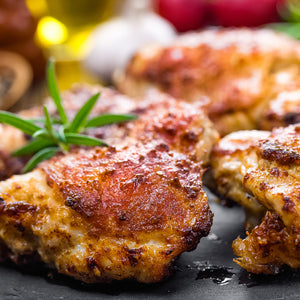 Bone-in Chicken Thighs 4 Pack