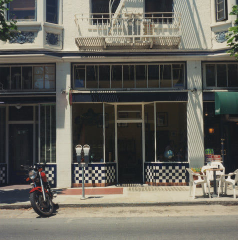 Our first location in the Hayes Valley