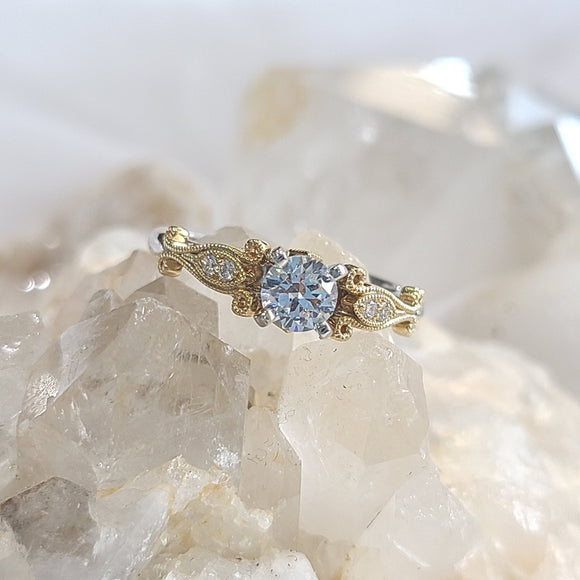 Audrey Semi-Mount Engagement Ring