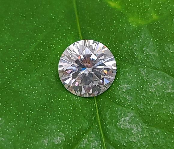 1.00ct Round Moissanite