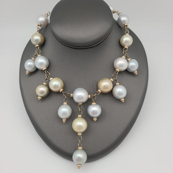 Victorian Pearl Necklace