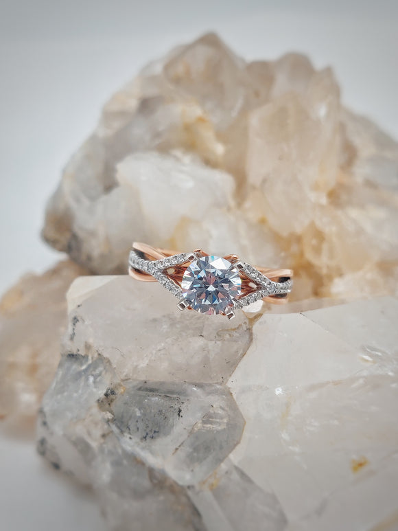 Charlotte Semi-Mount Engagement Ring