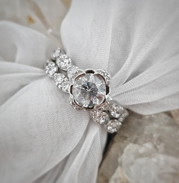 Aspen Diamond Wedding Set