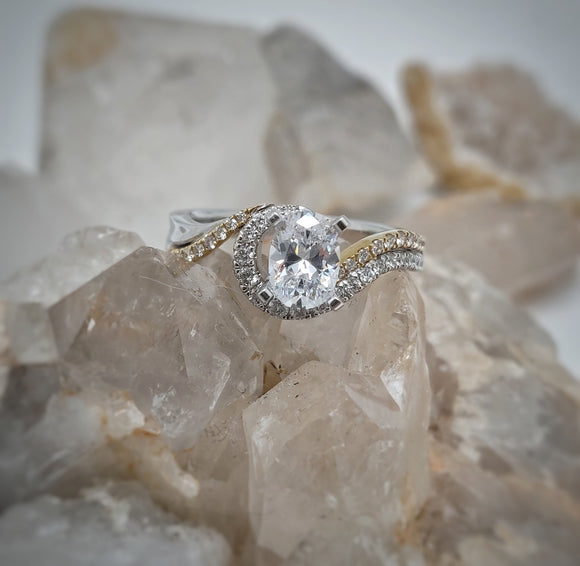 Brianna Semi-Mount Engagement Ring