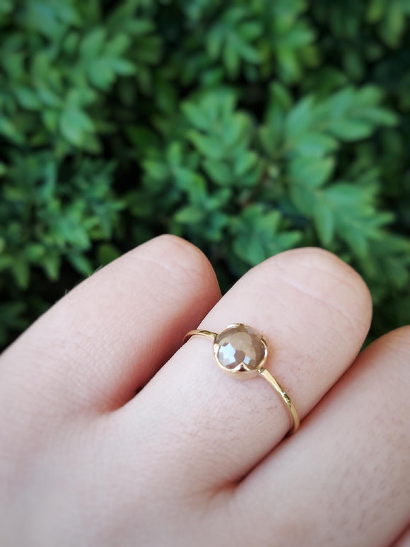 Reagan Caramel Diamond Ring