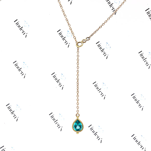 Apatite Lariat Necklace