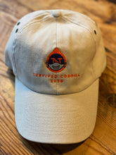 "Load image into Gallery viewer, Historic Northside Cafe ""Survived Corona 2020"" curved trucker hat"