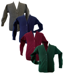 Non-Crested School Cardigan Collection