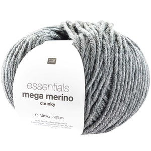 Rico Essentials Mega Wool (Chunky) - GREY