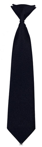 Elasticated Tie (Navy)