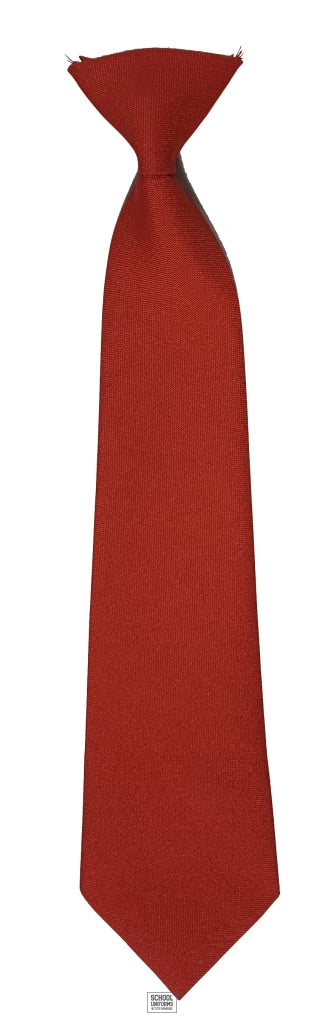 Elasticated Tie (Red)