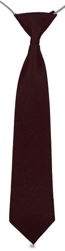 Elasticated Tie (Wine)