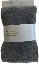 Load image into Gallery viewer, Girls Cotton Tights - Single Pack (Grey)