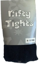 Load image into Gallery viewer, Girls Cotton Tights - Single Pack (Navy)