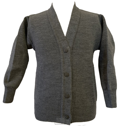 Grey Cardigan (Uncrested)