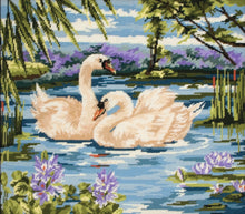 Load image into Gallery viewer, Swans (Tapestry Kit)