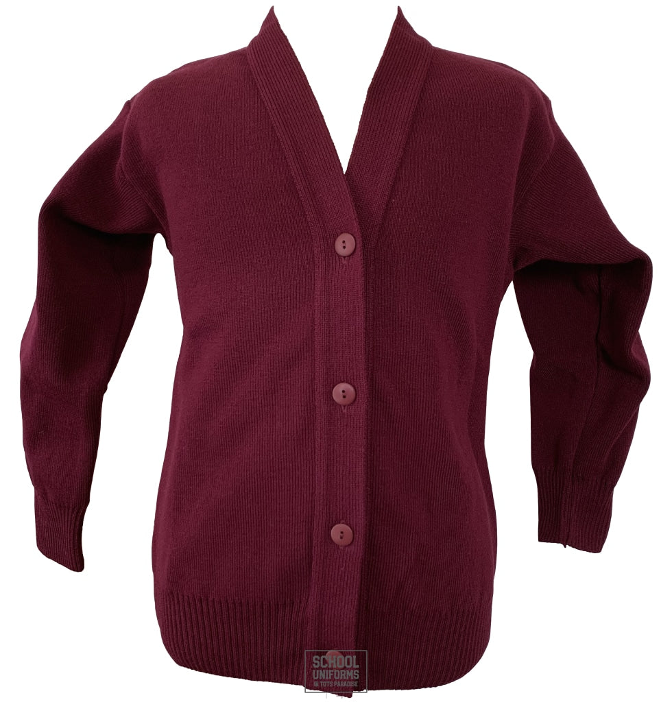 Maroon Cardigan (Uncrested)