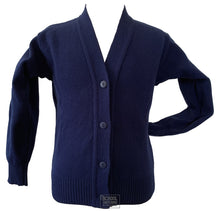 Load image into Gallery viewer, Navy Cardigan (Uncrested)
